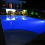 pool by night