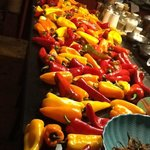 Peppers for the innkeeper's culinary artistry.