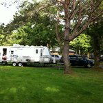 Great campsites. We love it here