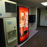 FREE ICE & VENDING MACHINEs WITHIN HOTEL, NOT OUTSIDE