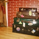 These are suitcases i mentioned i my review, They are cool