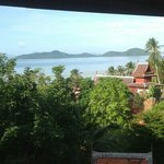 I can say a calm n tranquil area to stay in Samui.. our room balcony overlooking the hotel priva