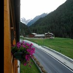 View into Parque Gran Paradiso from balcony