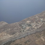 Hotel Ta Cenc, Gozo, view from the aircraft