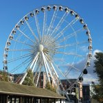 The Liverpool Wheel which is right opposite the hotel