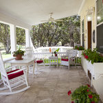 Welcoming wrap around porch