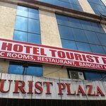 front view of hotel tourist plaza
