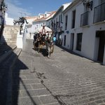 A Typical Mijas street