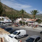 Mijas Donkey Taxis & The exit from the 1€ pd carpark