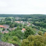 This is the view from the top of Rupenzel's tower.