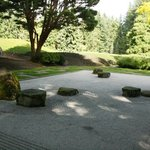 Every good Japanese garden needs a rock garden for meditation
