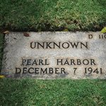 Unknown Soldier Of Pearl Harbor Attack