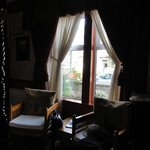 Bluebell Room, window to the street