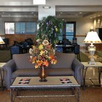 The lobby is sure looking like Autumn time!