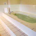 Relax with an in-room whirl pool bath