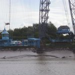 Edwardian Transporter Bridge built 1906