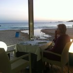 Restaurant Pelicano at the beach :-)
