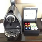 Nespresso in my room!!!