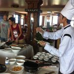 Cookery School at Hoi An Pacific Hotel :)