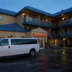 The external view of Ramada Inn