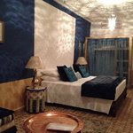 the amazing blue room