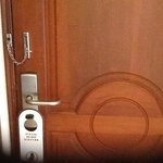 unsecure door locks