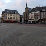 Sittard main center square offers a variety of restaurant and pub options