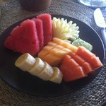 Lovely fruit from breakfast
