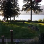 Another view of the lake from our dinner table