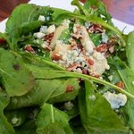 Roaster pear salad was light and delicious