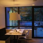 Romantic look of the dining room