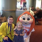 my daughter with polly and funstar adam