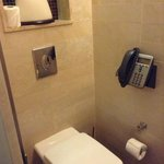 Phone in the toilet room!!