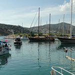 Short steep walk down to beautiful Kalkan harbour.