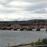 The 3 bridges on the Tweed