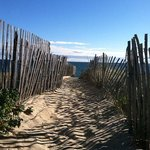 Wauwinet Beach Path, September 2013