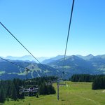 Super morzine chair lift