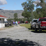 RV park is beautiful with ATV Parking and access to ATV trails. Facilities and clean and nice.