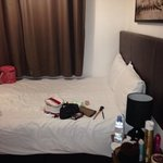 small uncomfortable double room