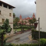 View from our room. Thats Flagler College.