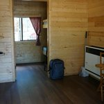 Inside the 2 room cabin (#11)