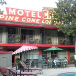 Pine Cone motel, very quaint
