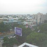 Street view from Hyatt Regency Chennai