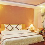 Superior room, 24 sq.m, Cityview, window, wood-floors, 1 double bed or 2 single, safety-box, bat