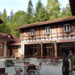 Bastion Hotel, Sinaia, Roumanie Sept 2013