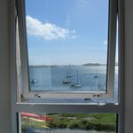 View of Castlebay from the bunkroom