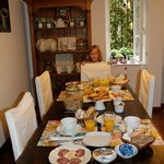 Breakfast at the B&B Cristiana