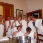 Venice Fish Dining Room Toga Party