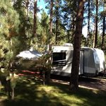 Our new Open Range camper at Fort Welikit Campground