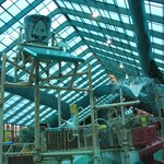 One of the play areas (Bucket tips over every few minutes) kids love it!